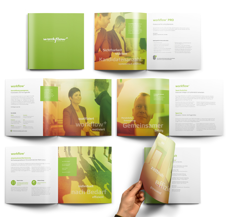 workflow+ Imagebroschüre