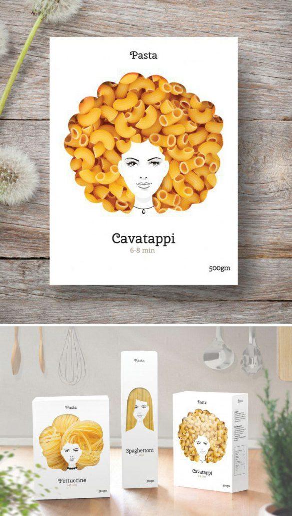 http://www.boredpanda.com/creative-food-packaging-ideas/, Pasta Nikita Packaging by Nikita Konkin