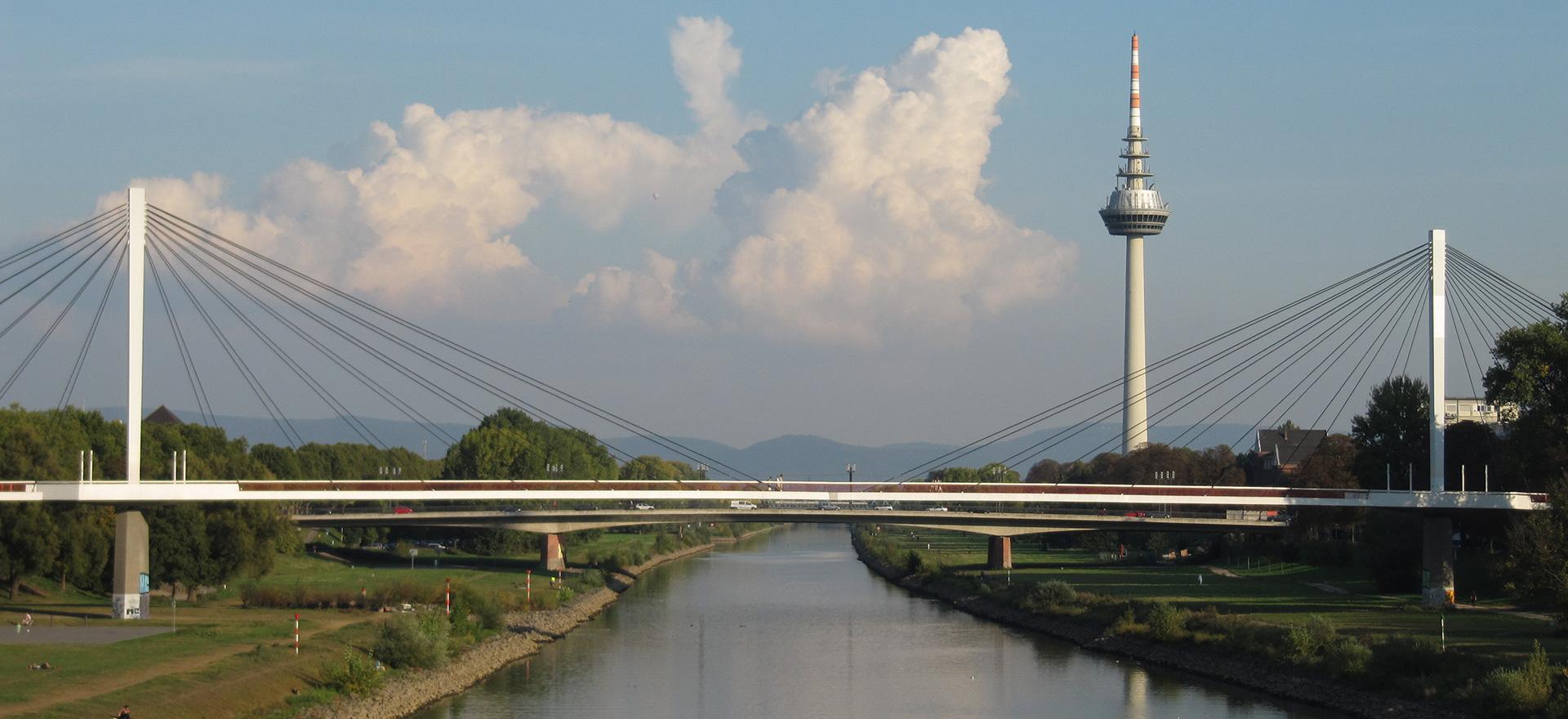 Mannheim Neckarsteg