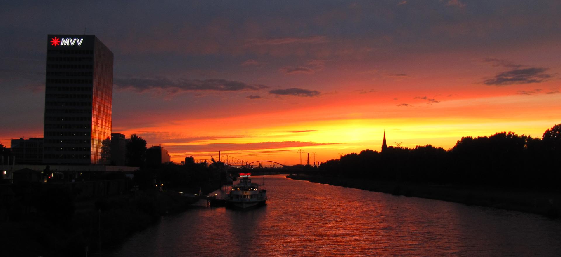 Mannheim Impressionen Neckar