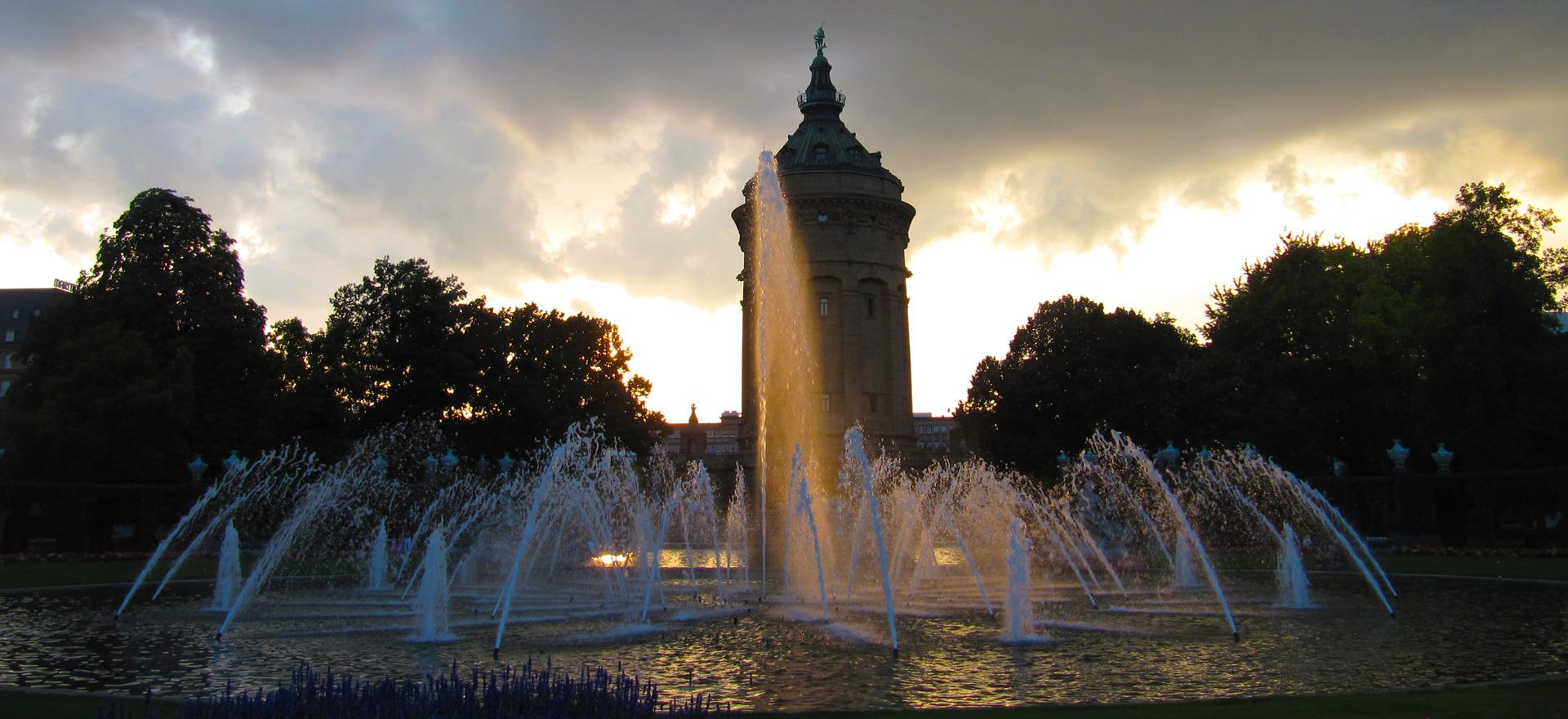 Mannheim Impressionen Wasserturm