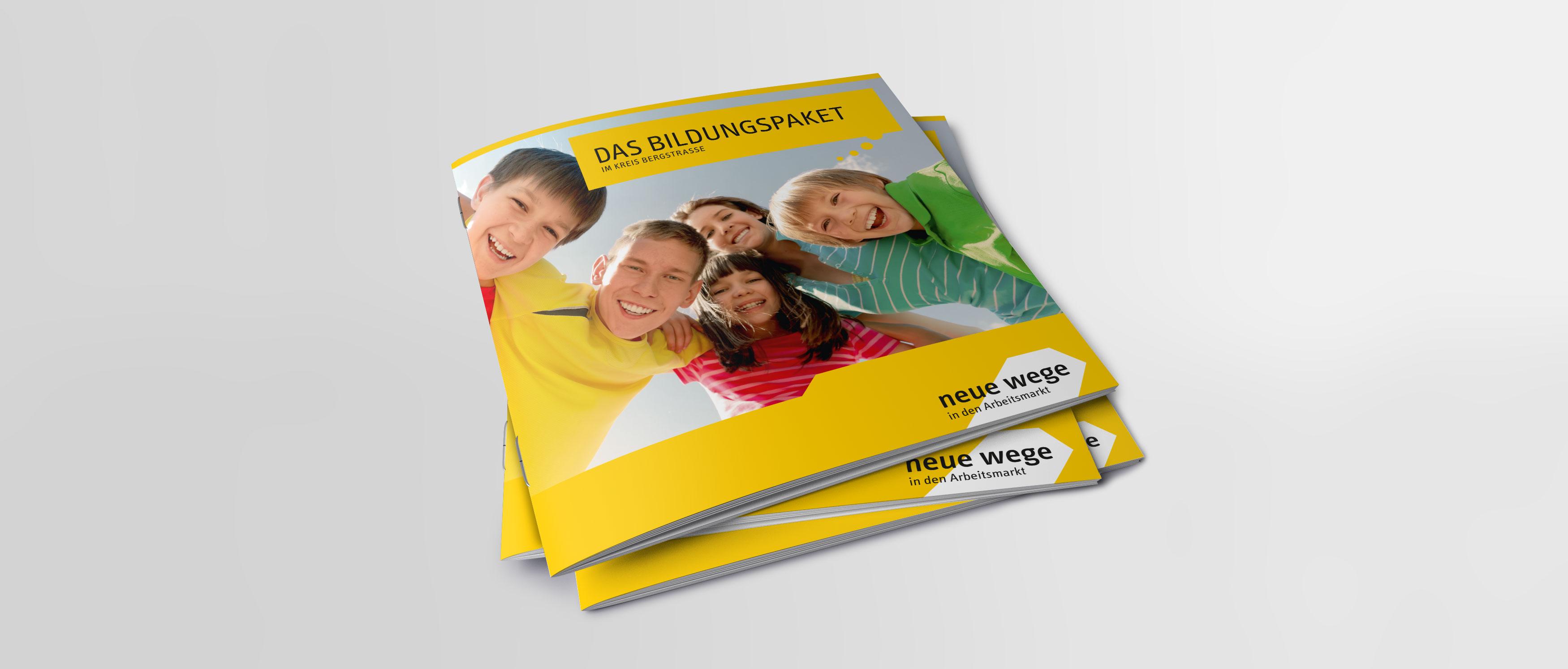 Broschüre »Das Bildungspaket im Kreis Bergstraße«