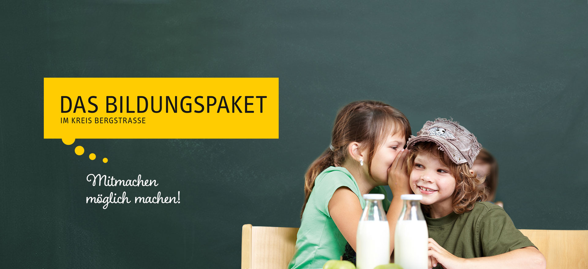 Das Bildungspaket im Kreis Bergstraße