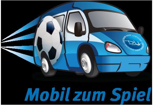 Mobil zum Spiel