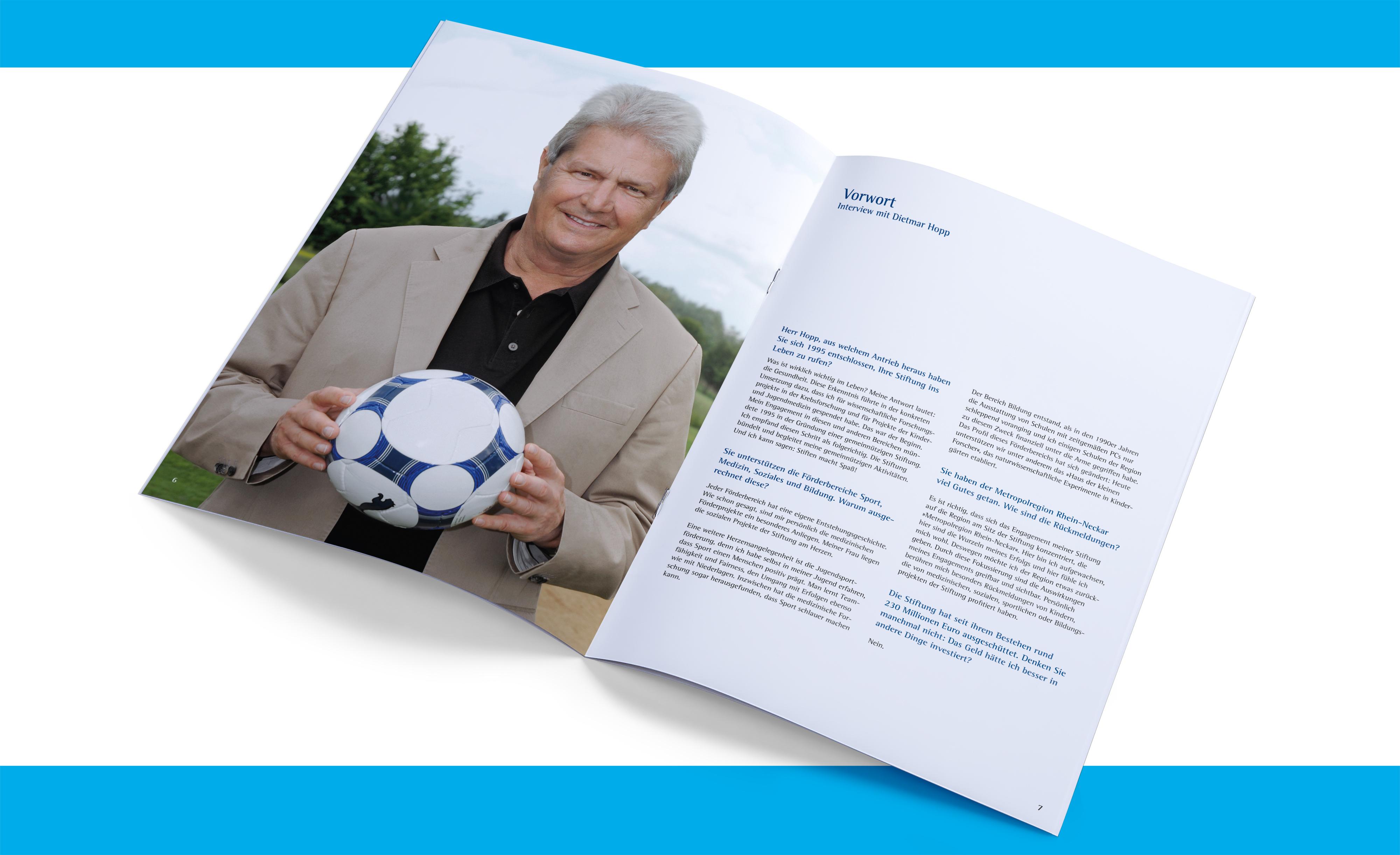 Imagebroschüre Dietmar Hopp Stiftung