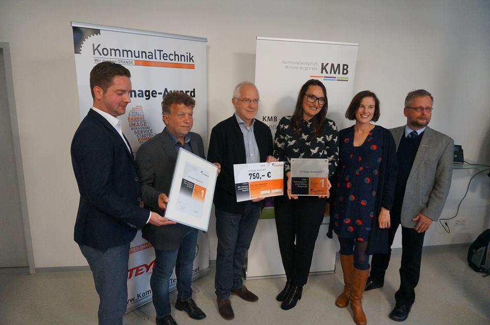 KMB gewinnt KT-Image-Award 2017 für den besten Gesamtauftritt