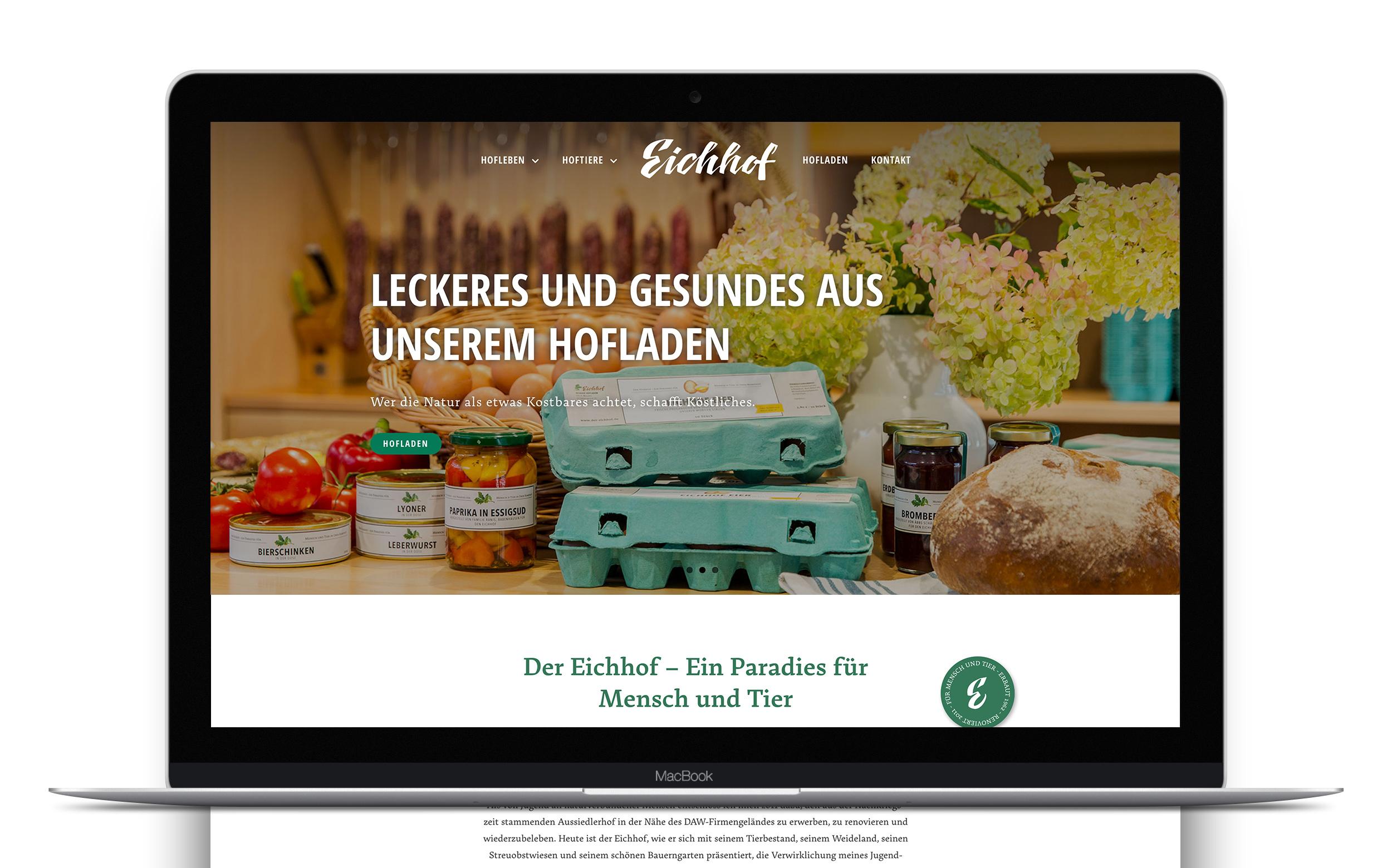 Eichhof Website